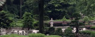 Garten im Nan Hua Tempel Südchina